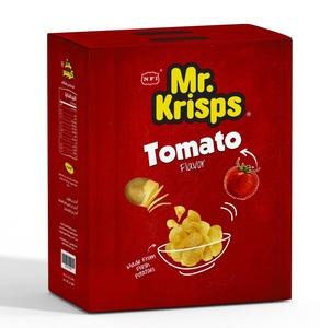 Mr.Krisps Potato Chips Tomato Flavour 25x15g