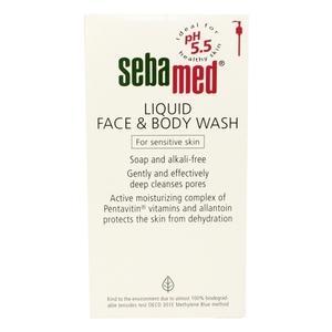Sebamed Liquid Face & Body Wash For Sensitive Skin 1L
