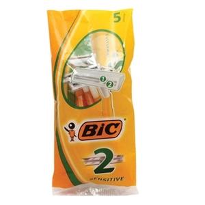 Bic 2 Sensitive Shaver Pack 5pc