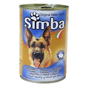 Simba Dog Food Chunks Chicken 415g