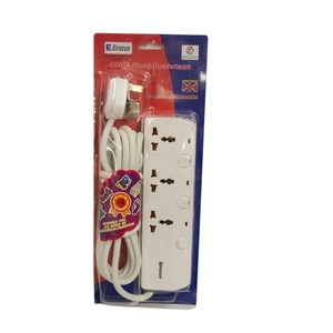 Sirocco Extension Socket 3 Way  4m
