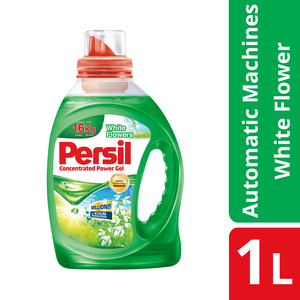 Persil Detergent Liquid Power Gel White Flower 1L
