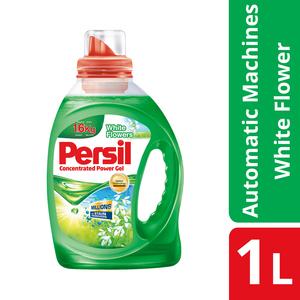 Persil Detergent Liquid Power Gel White Flower 1L