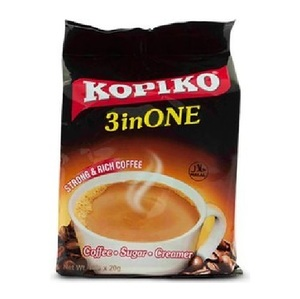 Kopiko 3 In 1 Strong & Rich Instant Coffee Mix 10x20g