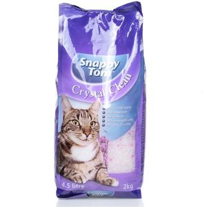 Snappy Tom Crystal Clean Cat Litter Lavender Scent 2kg