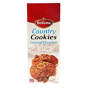 Hellema Cookies Country Coconut Chocolate 175g