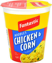 Fantastic Cup Noodles Chicken And Corn 70g
