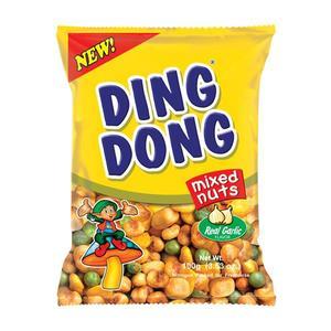 Ding Dong Super Mixed Nuts Real Garlic 100g