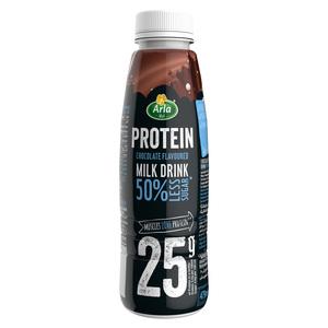Arla Protein 50% Less Sugar Chocolate Flavoured Protein Milk Drink 479ml