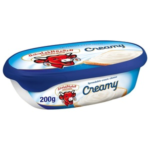 La Vache Qui Rit Creamy Cheese Spread Tub 200g