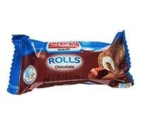 Americana Cocoa Mini Swiss Roll 20g