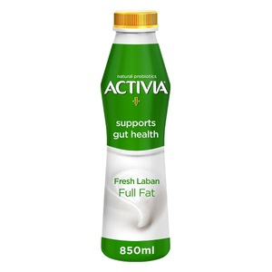 Activia Fresh Full Fat Laban 850ml