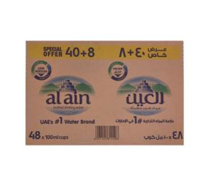 Al Ain Water 48x100ml