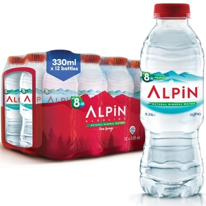 Alpin Water 12x330ml