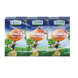 Lacnor Junior Mango Juice 6x125ml