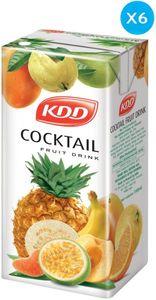 Kdd Cocktail Fruit Drink 6x180ml