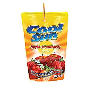 Cool Sun Apple / Strawberry 10x200ml