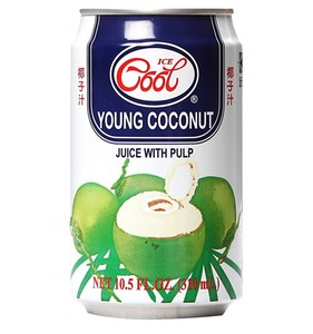 Ice Cool Juice Young Coconut 3 6x310ml