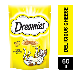 Dreamies Cheese Cat Treats Pouch 60g