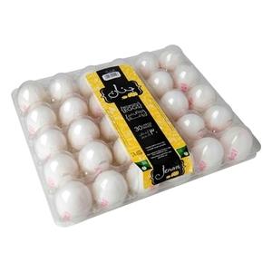 Jenan Xl White Eggs 30pcs