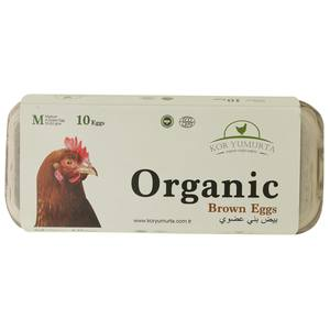 Kor Yumurta Organic Brown Egg 10s