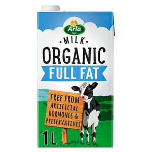 Arla Organic Long Life Full Fat Milk 1L