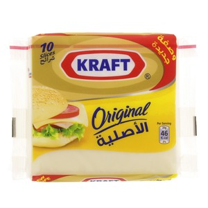 Kraft Cheese Slices Original 200g