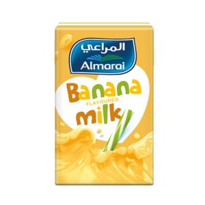 Almarai UHT Banana Nijoom Milk 6X150ml