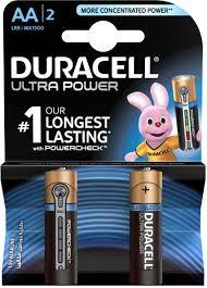 Duracell Battery Ultra Power Aa2 1pkt