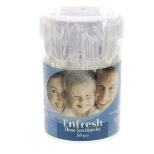 Enfresh Floss Toothpicks 50pc