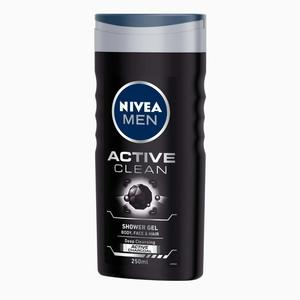 Nivea Shower Gel Men Active Clean 250ml