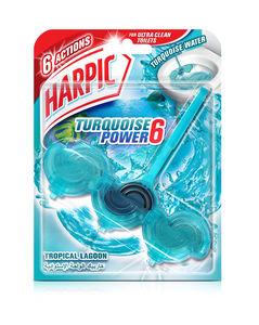 Harpic Toilet Cleaner Liquid Active Fresh Ocean Force 750ml