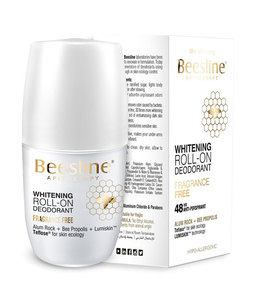 Beesline Roll On Deodorant Fragrance Free 50ml