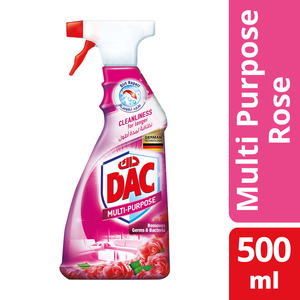Dac Multi-Purpose Cleaner Rose Spray 500ml