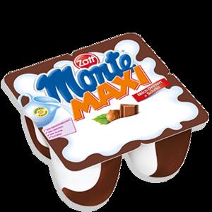 Zott Monte Cream Desert 4x55g