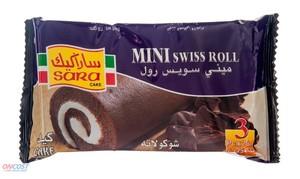 Sara Cakes Swiss Roll Choco 75gm
