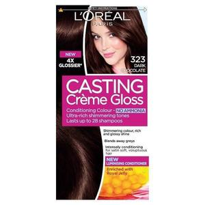 L'Oreal Paris Casting Creme Gloss   323 Dark Chocolate 1pcs