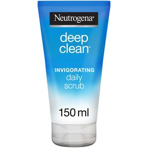Neutrogena Face Scrub Deep Clean Invigorating Normal to Combination Skin 150ml