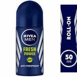 Nivea Fresh Power Antiperspirant Fresh Scent Roll-On For Men 50ml