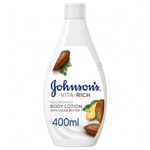 Johnson's Body Lotion Vita-Rich Nourishing Cocoa Butter 400ml