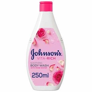 Johnson's Body Wash Vita-Rich Rose Water Soothing 250ml