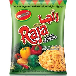Raja Potato Cruchies Veg 15g