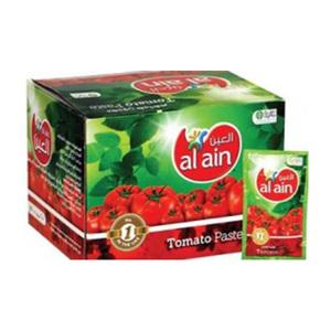 Al Ain Tomato Paste Pouch 25x70g
