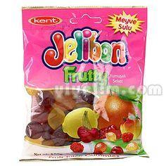 Kent Jellibon Fruity 90g