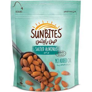 Sunbites Almonds Salted 160gm