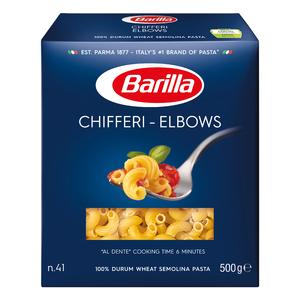 Barilla Chifferi Elbows Pasta 500g