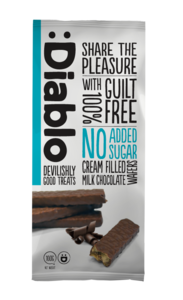 Diablo Chocolate Wafer 100g