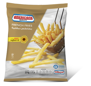 Americana French Fries 2.5kg
