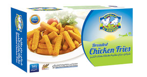 Al Rawdah Breaded Chicken Fries 300g