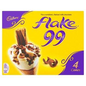 Cadbury Flake 99 Cone Mp 4x125g